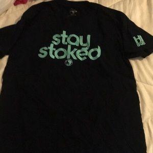 T & C surf design T-shirt